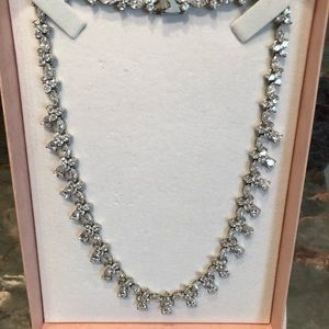 Jewelry - Cubic zirconia necklace and earrings